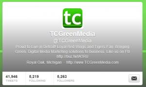 tc green media twitter customization